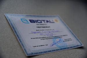 Голограмма для сертификатов.