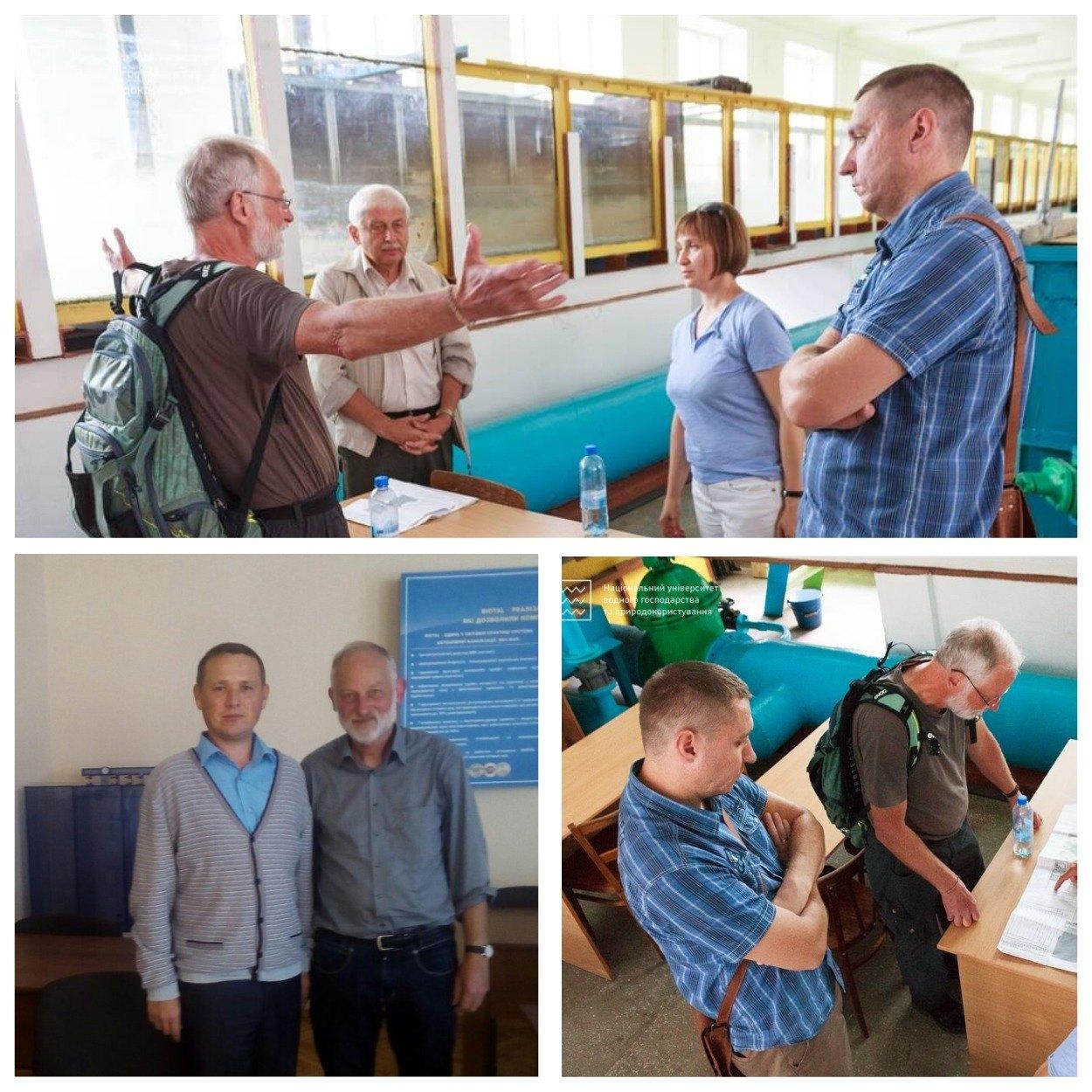 Гість з Німеччини відвідів лабораторію BIOTAL в НУВГП.