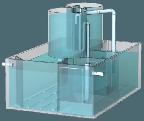 Block-modular ground-underground installations BMT